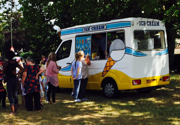 Book Ice Cream Van School Fete donation