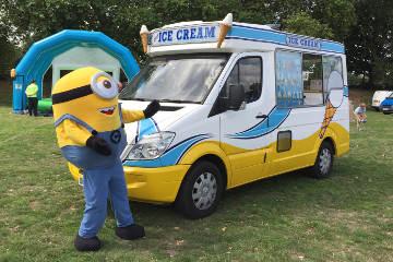 Corporate Ice Cream Van Hire Surrey