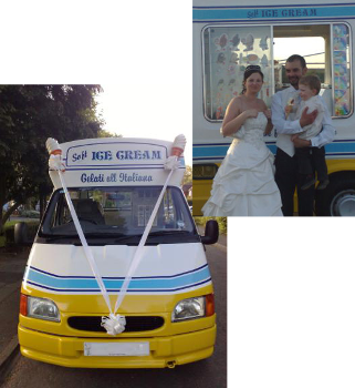wedding ice cream van hire