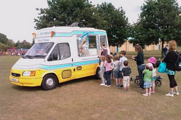 Ice Cream Van Hire Surrey
