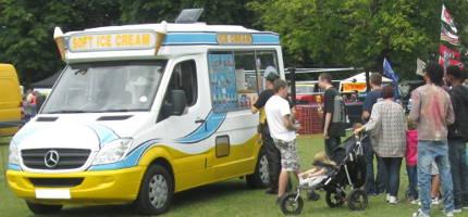 Ice Cream Van Fete Surrey