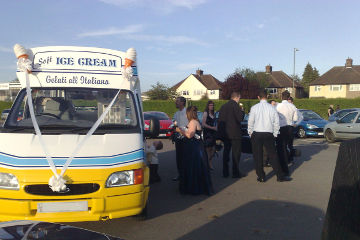 Ice cream van hire for birthday party