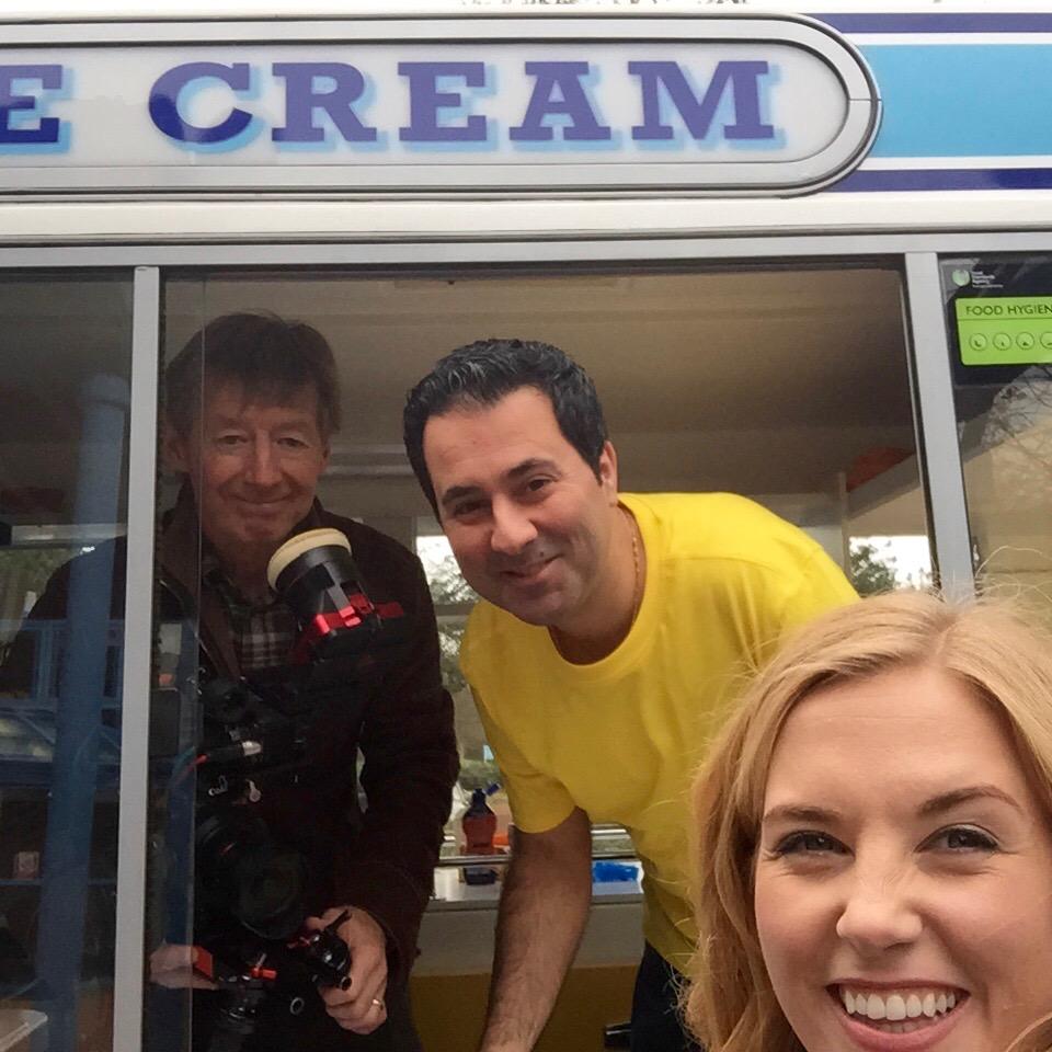 Ice Cream Van Filming