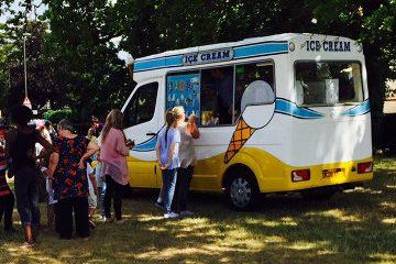 Ice Cream Van Hire Fundraising Donation