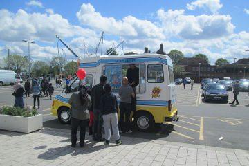 Book Ice Cream Van