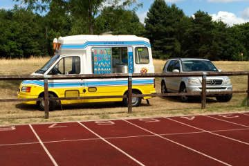 Ice Cream Van Sports Day